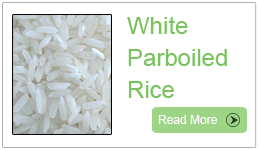 White Parboiled Rice, Long grain white rice