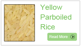 Parboiled yellow rice, Thai Parboiled Yellow Rice, Yellow Rice Parboiled